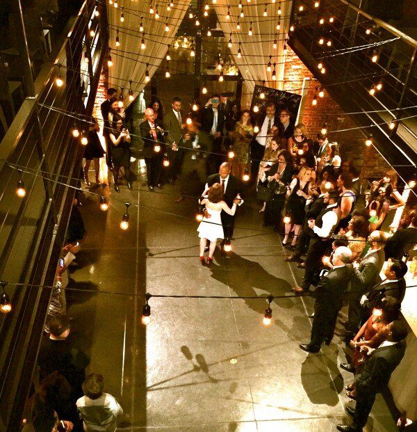 The Foundry First Dance from bride & groom
