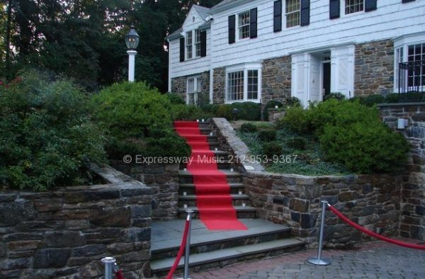 Red Carpet showing at Scarsdale Karaoke Party House