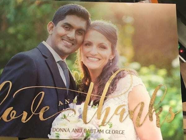 Indian Polish couple get married