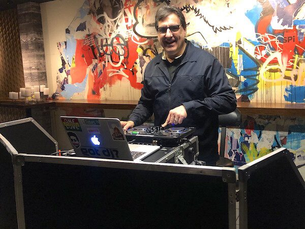 Expressway Music DJ Dave Swirsky front view at Spin NYC