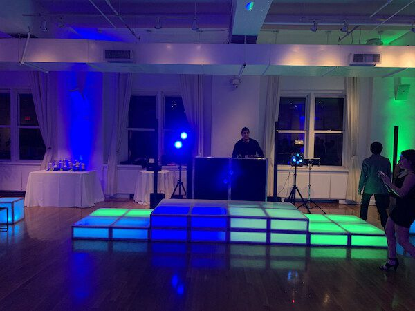 Expressway Music DJ Dave with Light Up Stage