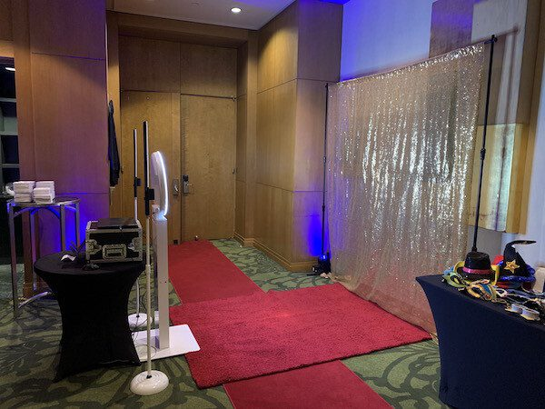 Open Air Photo Booth Side Shot